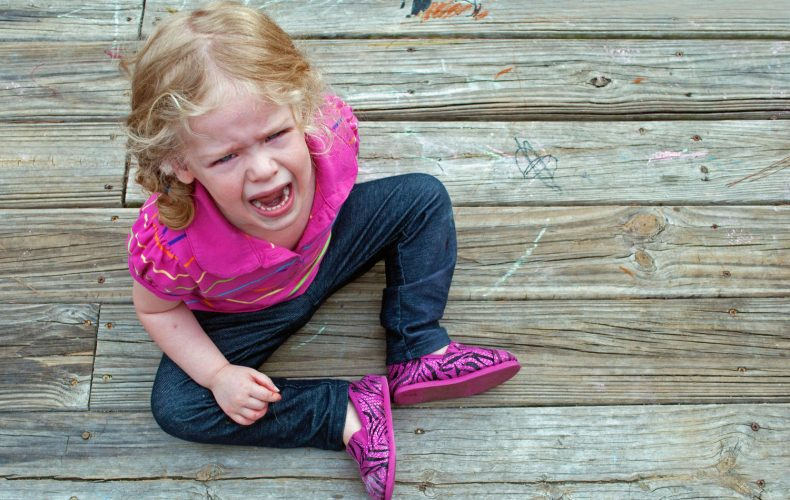 How to deal with temper tantrums?