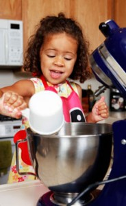 Child with Mixer 2